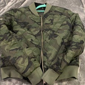 Super dry bomber jacket